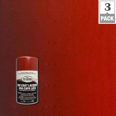 3 oz. Mythical Maroon Lacquer Spray Paint (3-Pack)