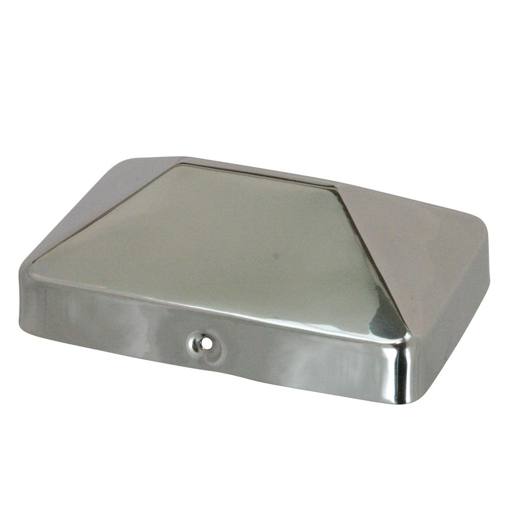 Protectyte in stainless steel pyramid slip over