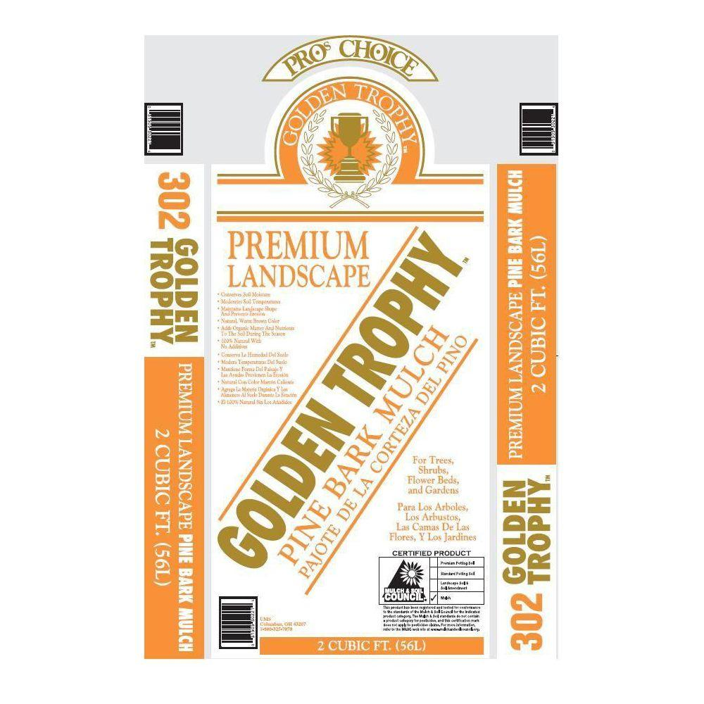 Pro's Choice Golden Trophy 2 cu. ft. Pine Mulch