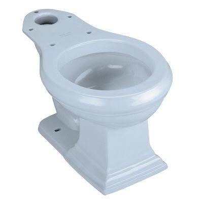 KOHLER Memoirs Round Front Seatless Toilet Bowl Only in Skylight-DISCONTINUED