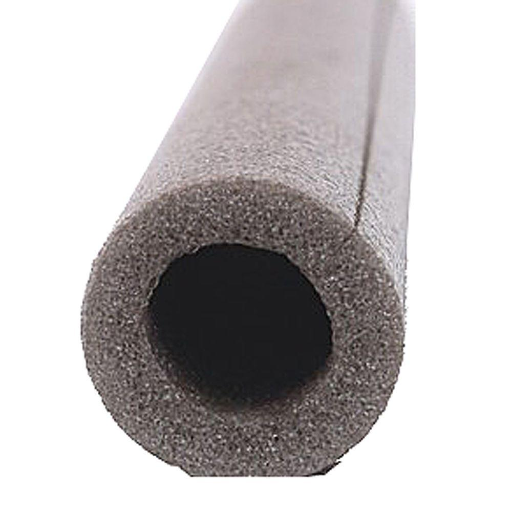 Frost king tubular foam pipe insulation fits 1 in copper for Best copper pipe insulation