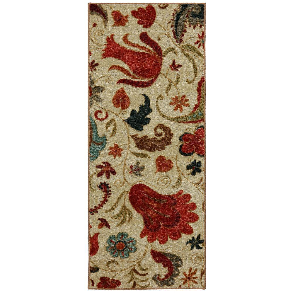 Mohawk Home Tropical Acres Multi 2 ft. x 5 ft. Indoor Runner Rug
