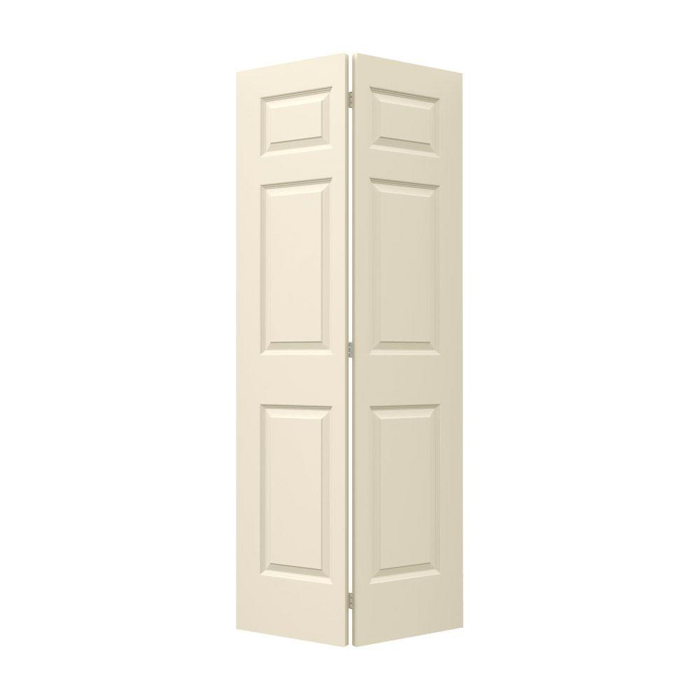 30 in. x 80 in. Colonist Primed Smooth Molded Composite MDF