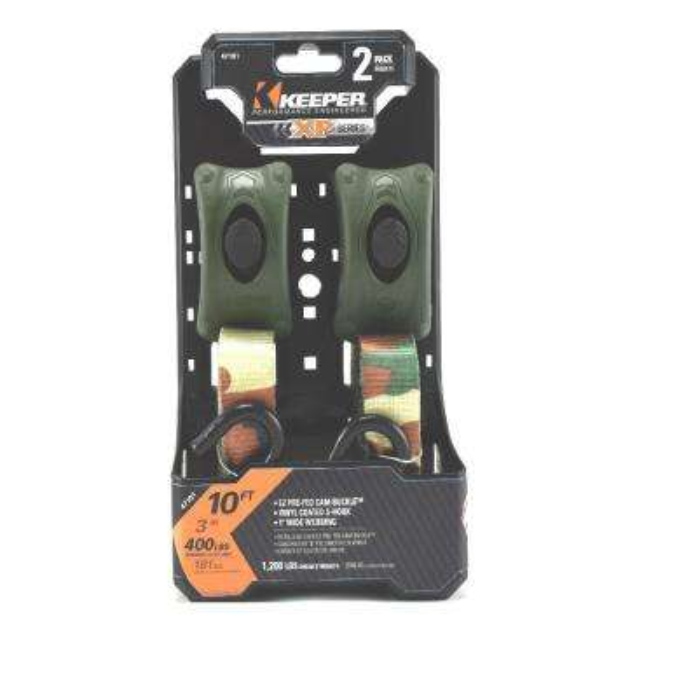 10 ft. x 1 in. Camo EZ Woodland (2-Pack)