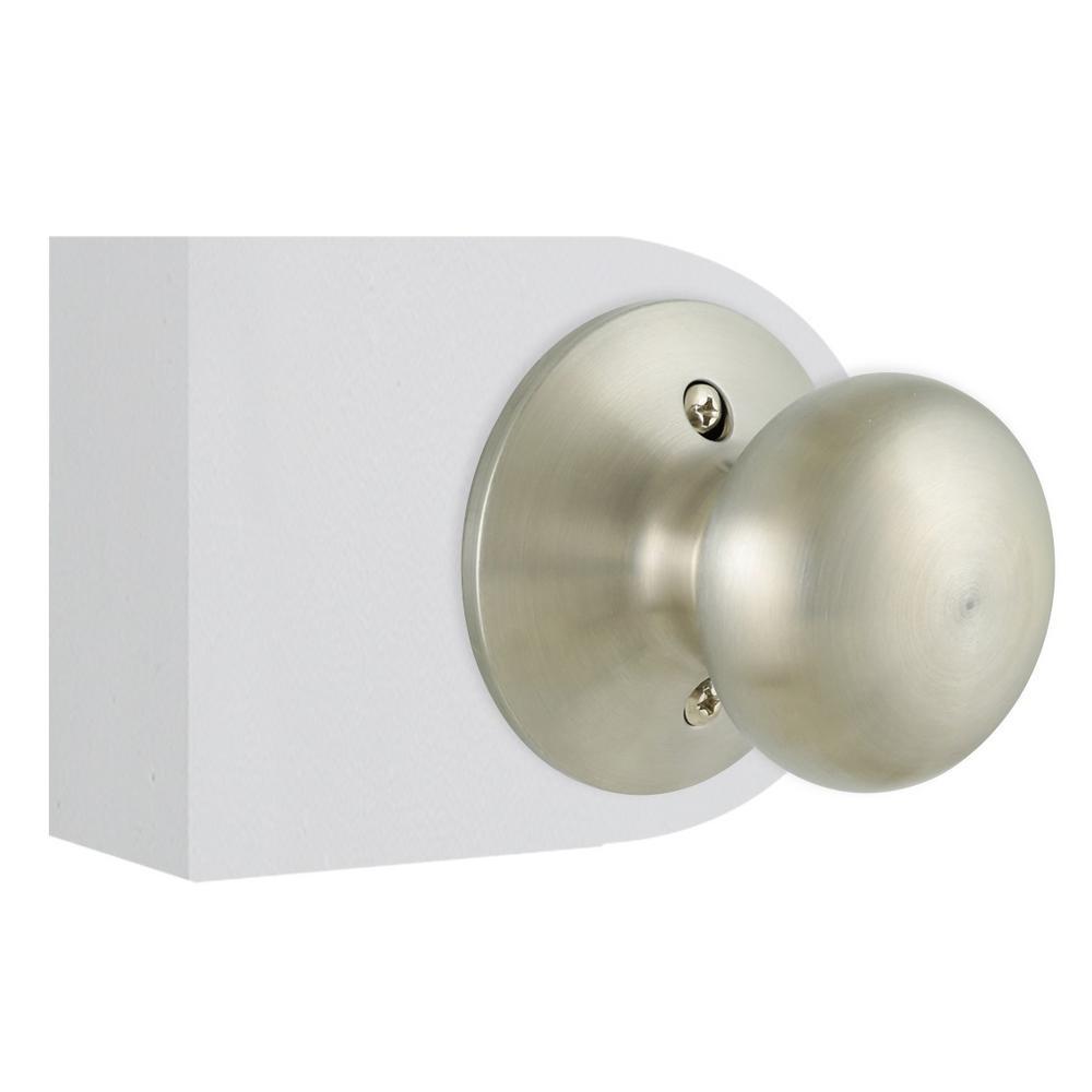 Defiant Berwick Stainless Steel Dummy Door Knob 32tf640b The Home Depot