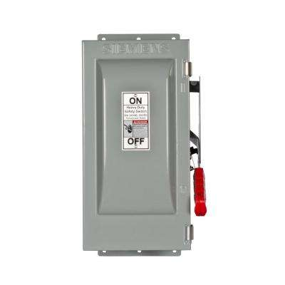 Heavy Duty 30 Amp 240-Volt 3-Pole Type 12 Fusible Safety Switch