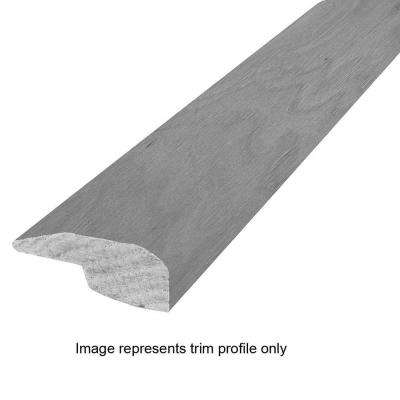 Hickory Charcoal 25/32 in. Thick x 2 in. Wide x 84 in. Length Hardwood Baby Threshold Molding