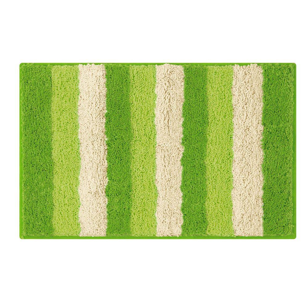 Radella Lime 18 in. x 30 in. Bath Rug