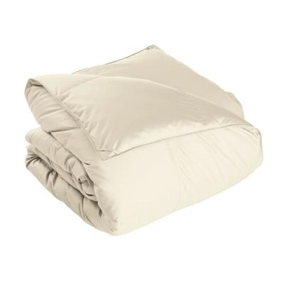 Alberta Medium Warmth Ivory Twin Euro Down Comforter