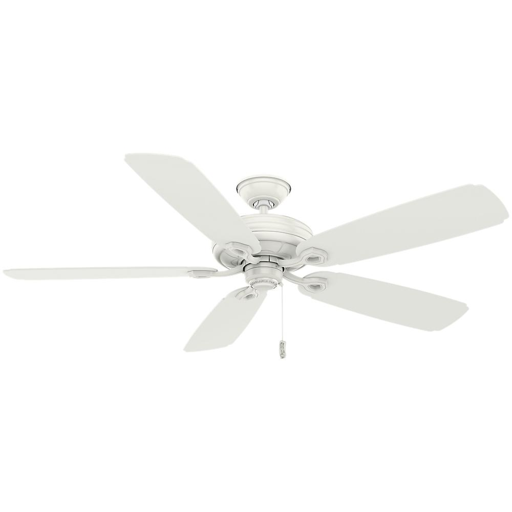 White Nadia Ceiling Fan: Casablanca Charthouse 60 In. Outdoor Fresh White Ceiling