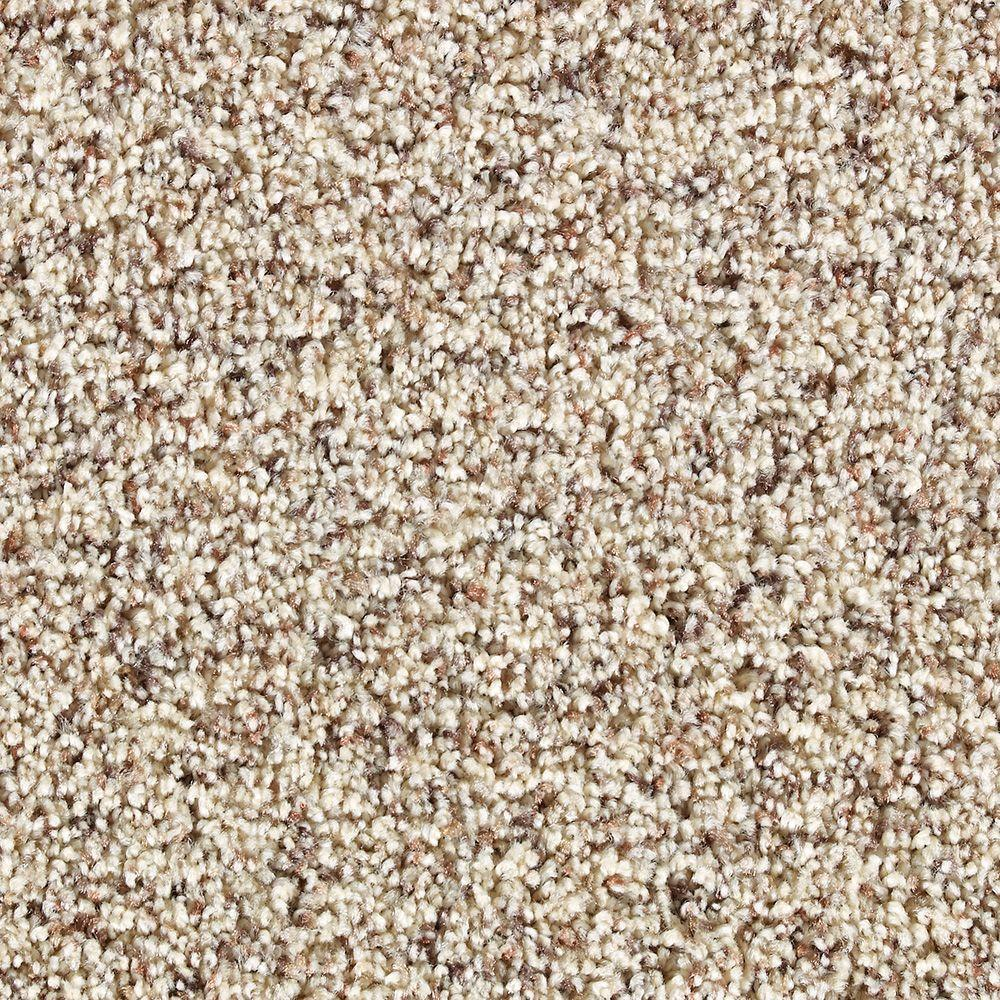 Martha Stewart Living Fontainebleau Hickory - 6 in. x 9 in. Take Home Carpet Sample-DISCONTINUED