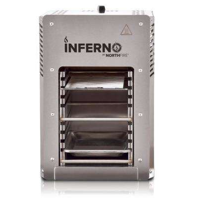 Inferno Single Burner Propane Gas Grill in Steel