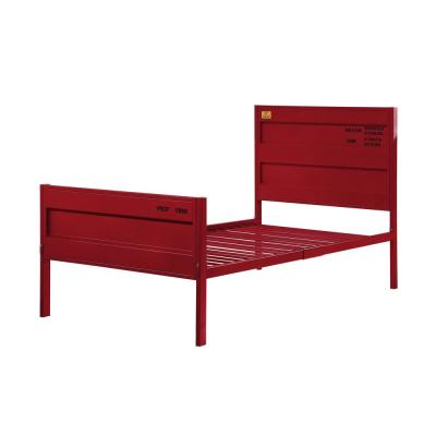 Cargo Red Twin Bed