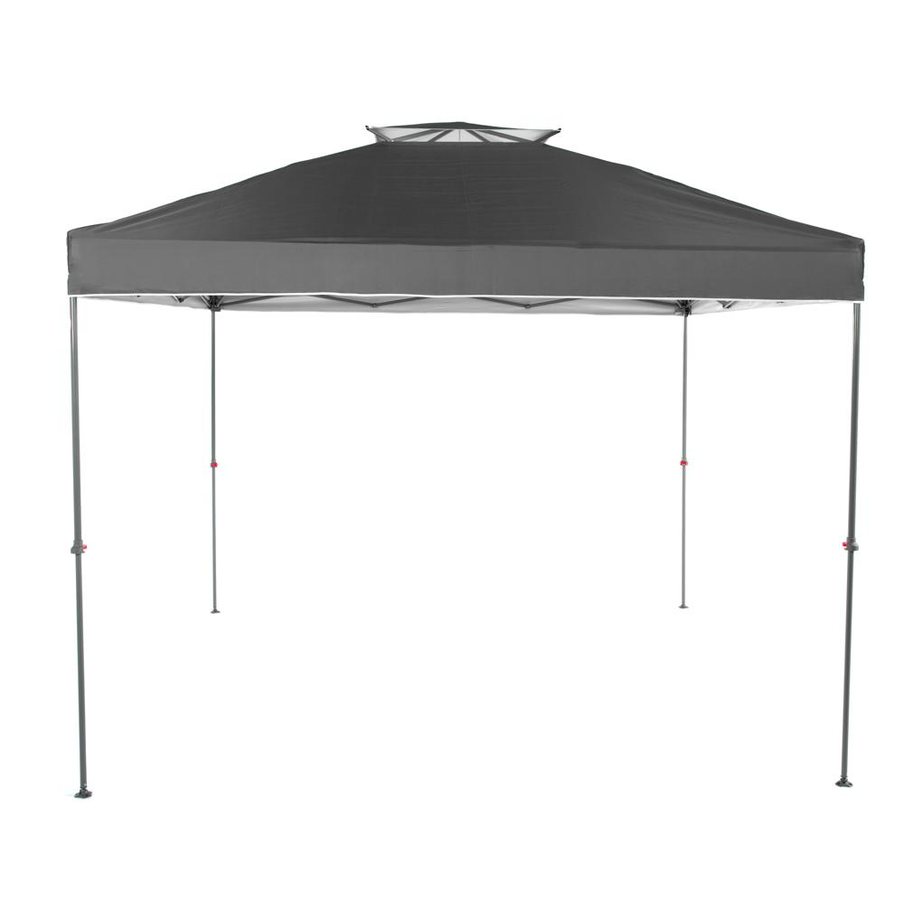 Everbilt NS-100 10 ft. x 10 ft. Grey Instant Canopy Pop Up Tent