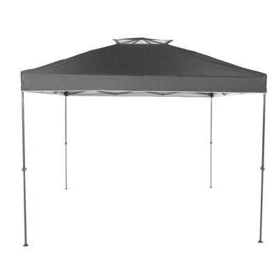 NS-100 10 ft. x 10 ft. Grey Instant Canopy Pop Up Tent