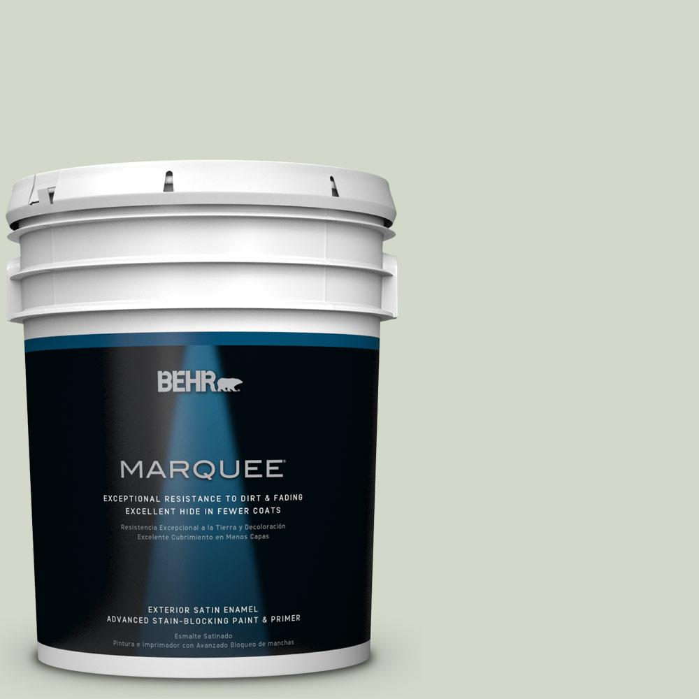 BEHR MARQUEE 5-gal. #HDC-CT-25 Bayberry Frost Satin Enamel Exterior Paint