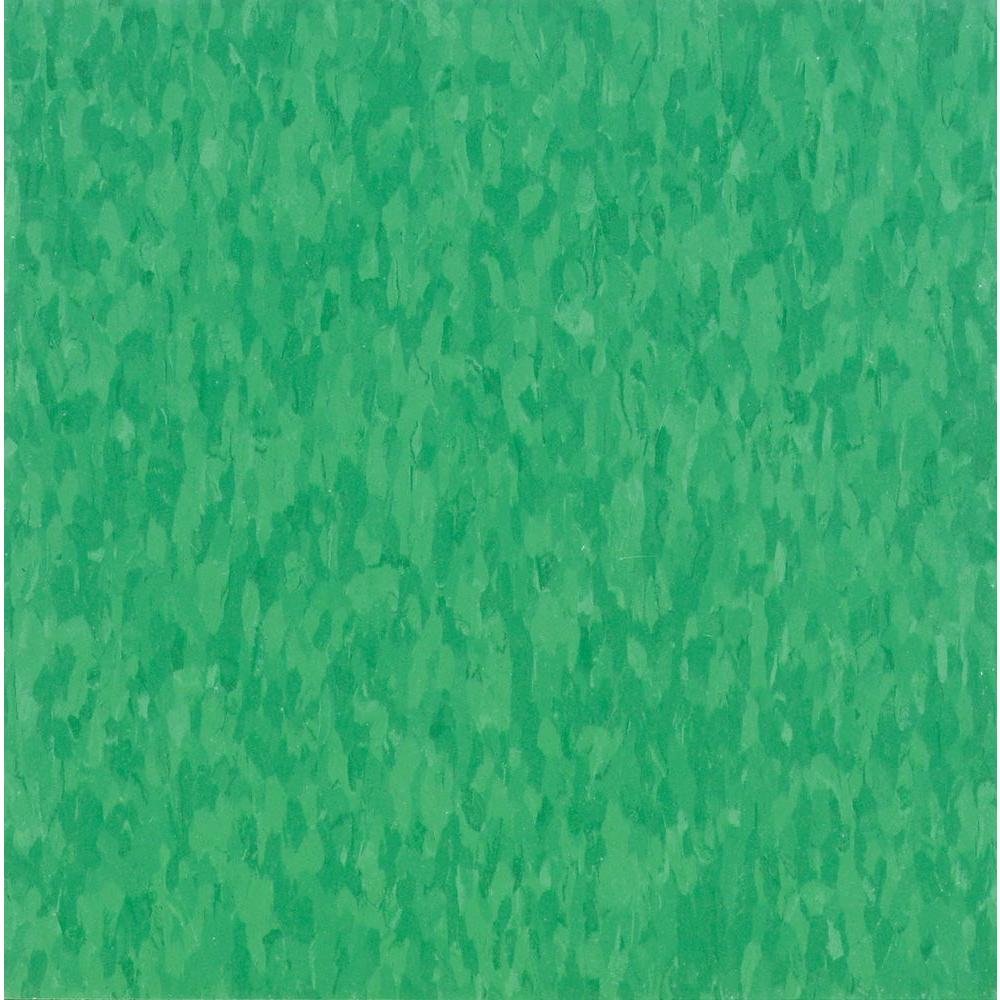 Imperial Texture VCT 12 in. x 12 in. Grabbin Green Commercial