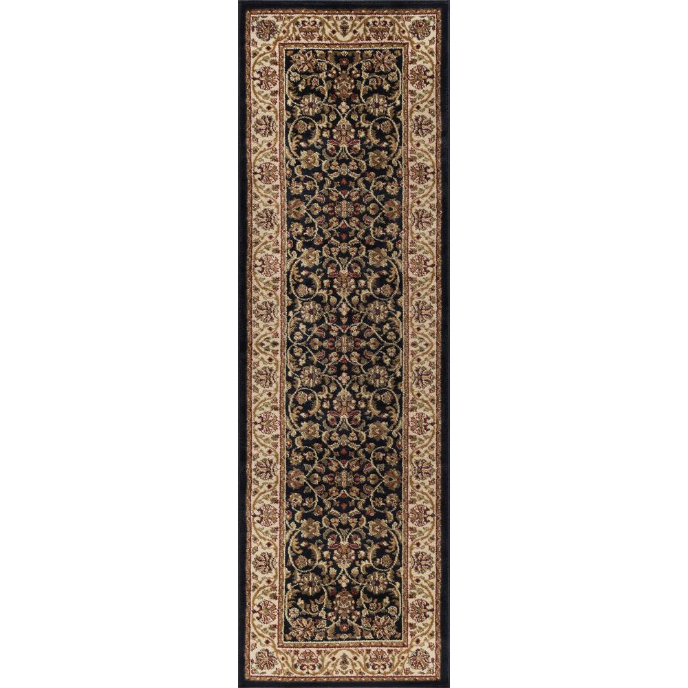 This review is from:Sensation Black 2 ft. x 10 ft. Runner Rug