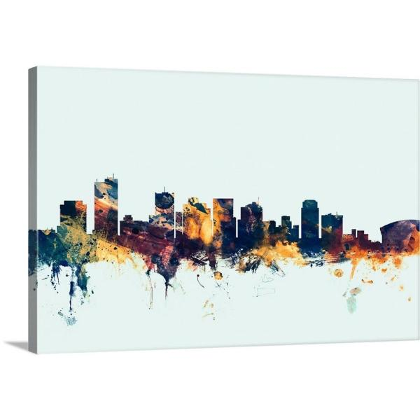 """Phoenix Arizona Skyline"" by Michael Tompsett"