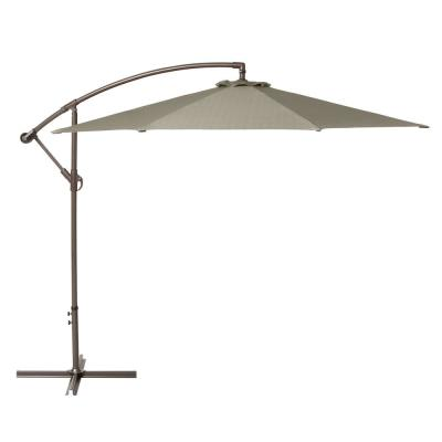 10 ft. Cantilever Patio Umbrella in Moon Rock