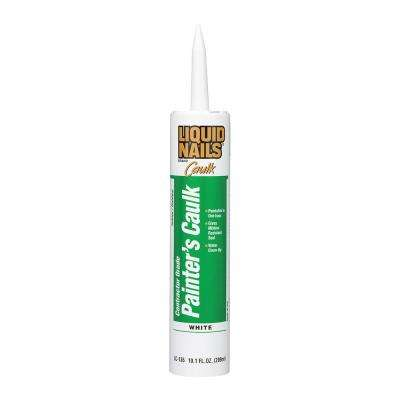 Painters 10.1 fl oz. White Interior and Exterior Caulk (12-Pack)