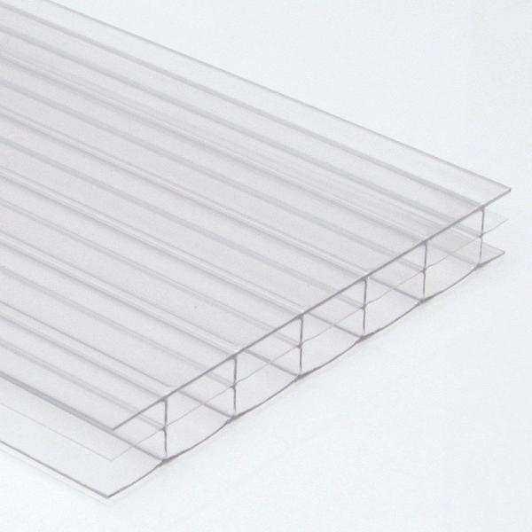 Polycarbonate Sheets Standard Rectangles 10mm Width 700mm Length 3000mmClear