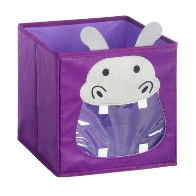 10 in. x 10 in. Collapsible Cube Hippo