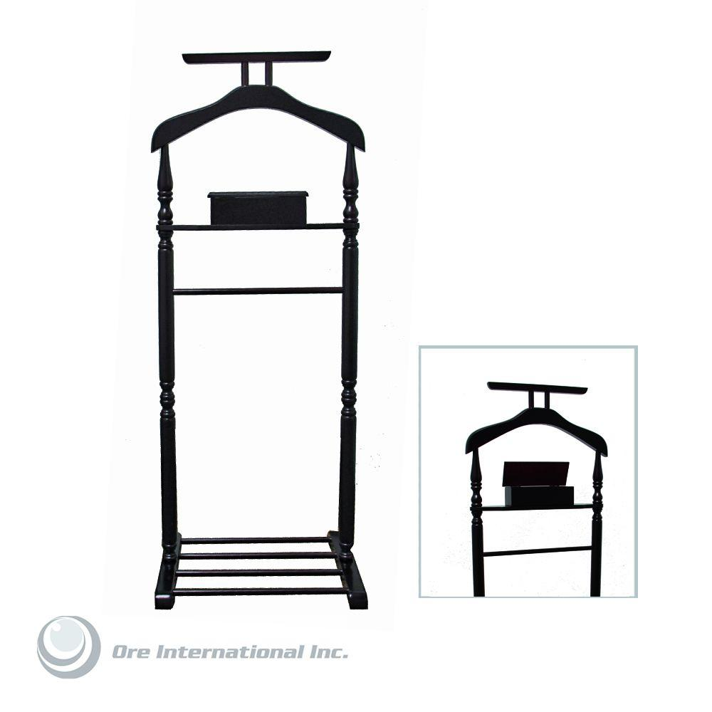 Home Decorators Collection Suit Rack in Walnut