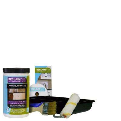 1-qt. White All in One Multi Surface Interior/Exterior Cabinet, Furniture and More Refinishing Kit