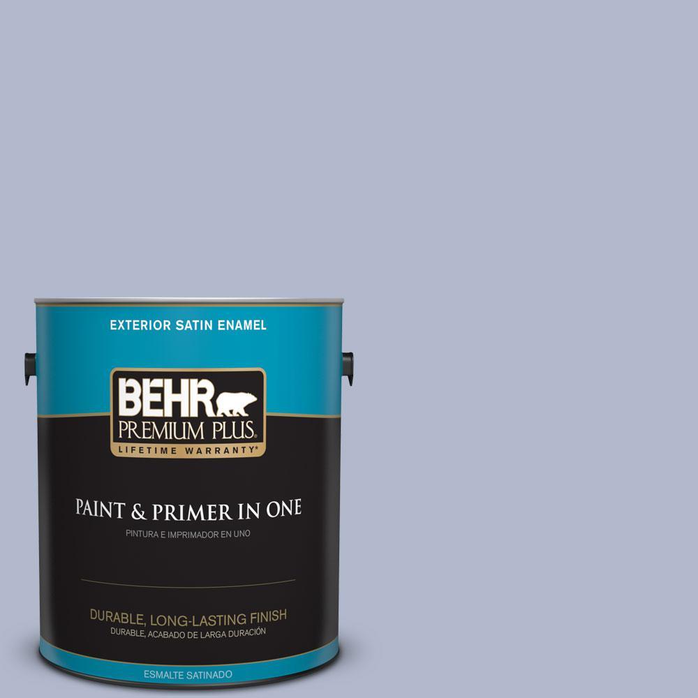 BEHR Premium Plus 1-gal. #600F-4 Heritage Satin Enamel Exterior Paint