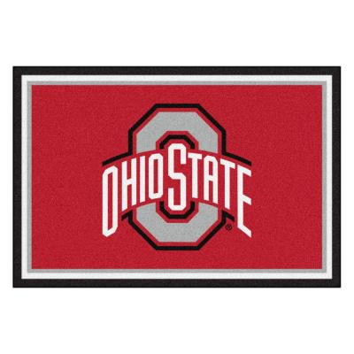 Ohio State University 5 ft. x 8 ft. Area Rug