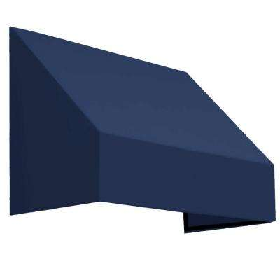 4.38 ft. Wide New Yorker Window/Entry Awning (18 in. H x 36 in. D) Navy
