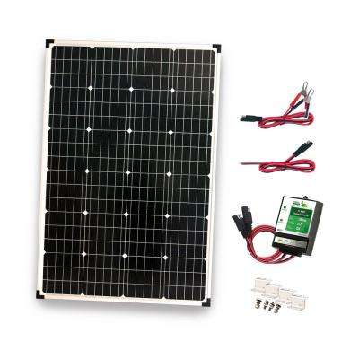 110-Watt Polycrystalline Solar Panel with 11 Amp Charge Controller