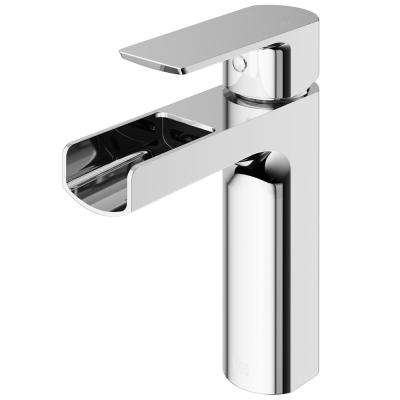 Ileana Single Hole Single-Handle Bathroom Faucet in Chrome