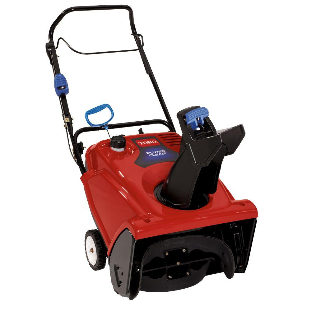 Superb 212cc Single Stage Gas Snow Blower