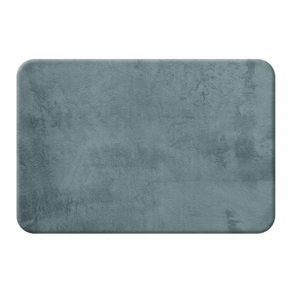 6949f6f86b6 Garland Rug Beach Stripe Indigo Blue White 21 in. x 34 in. Bath Rug ...