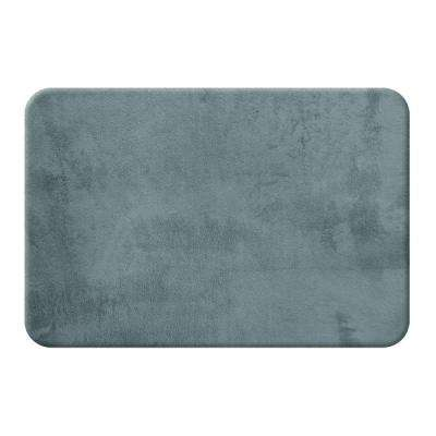 Slate 20 in. x 32 in. Bath Mat
