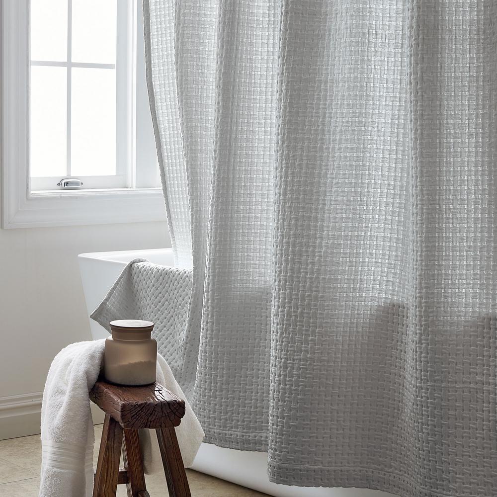 Basket Weave 72 in. Shower Curtain