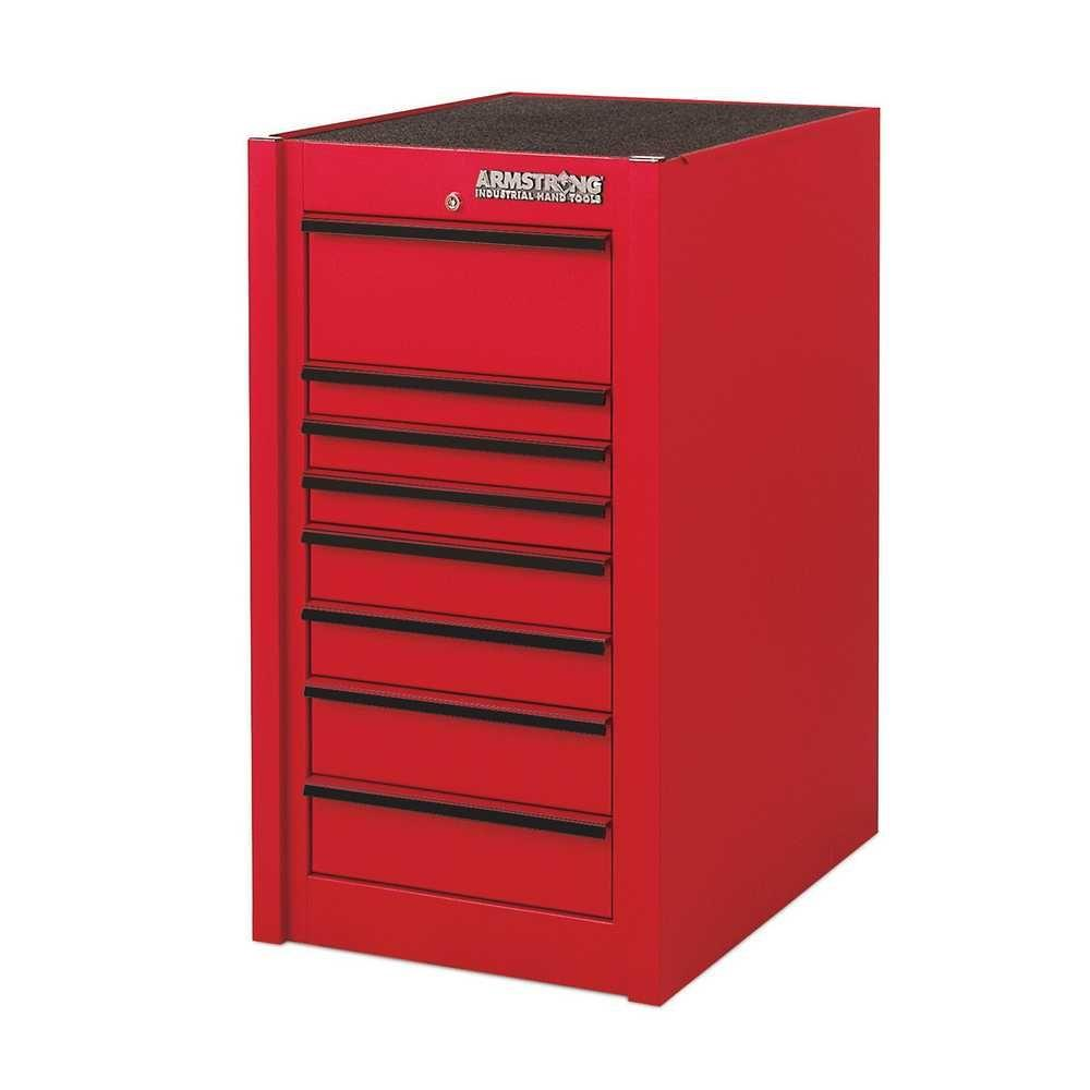 utility cabinet armstrong 20 in 8 drawer industrial series side storage 27891