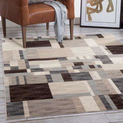 Sonoma Kelso Charcoal 5 ft. 3 in. x 7 ft. 6 in. Area Rug