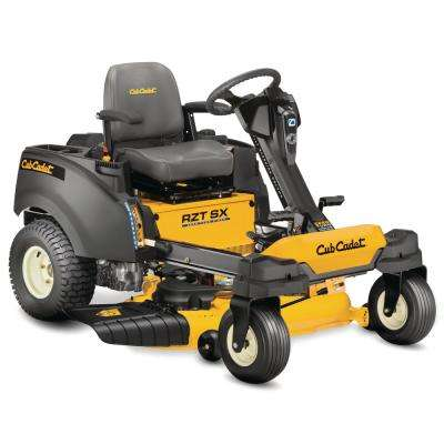 RZT SX 42 in. 22 HP Kohler V-Twin Dual Hydrostatic Zero-Turn Riding Mower with Steering Wheel Control