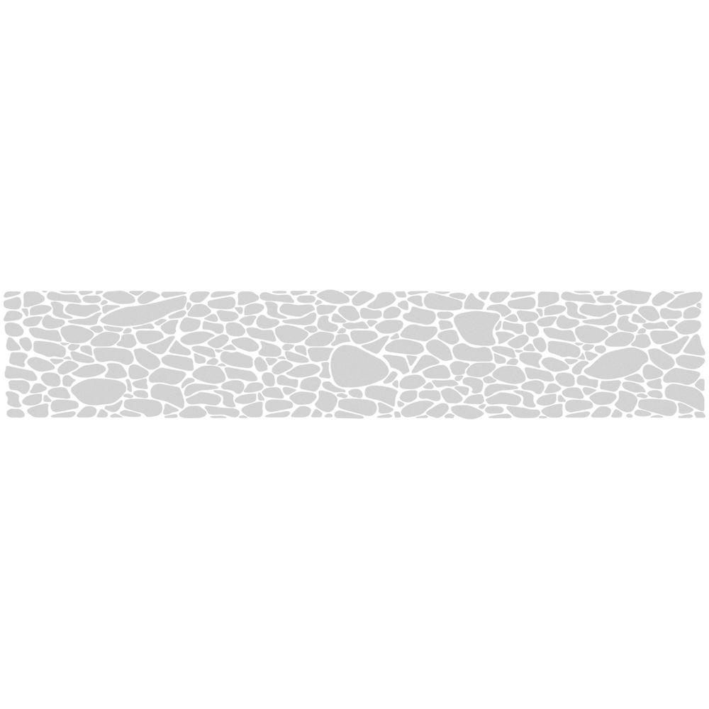 ETCHED Fx 0.012 in. x 9 in. Frosted Pebble Premium Glass ...
