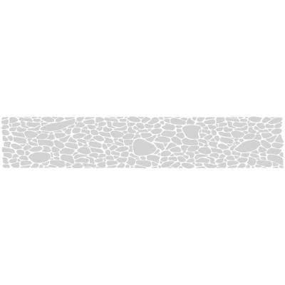 0.012 in. x 9 in. Frosted Pebble Premium Glass Etch Window Film