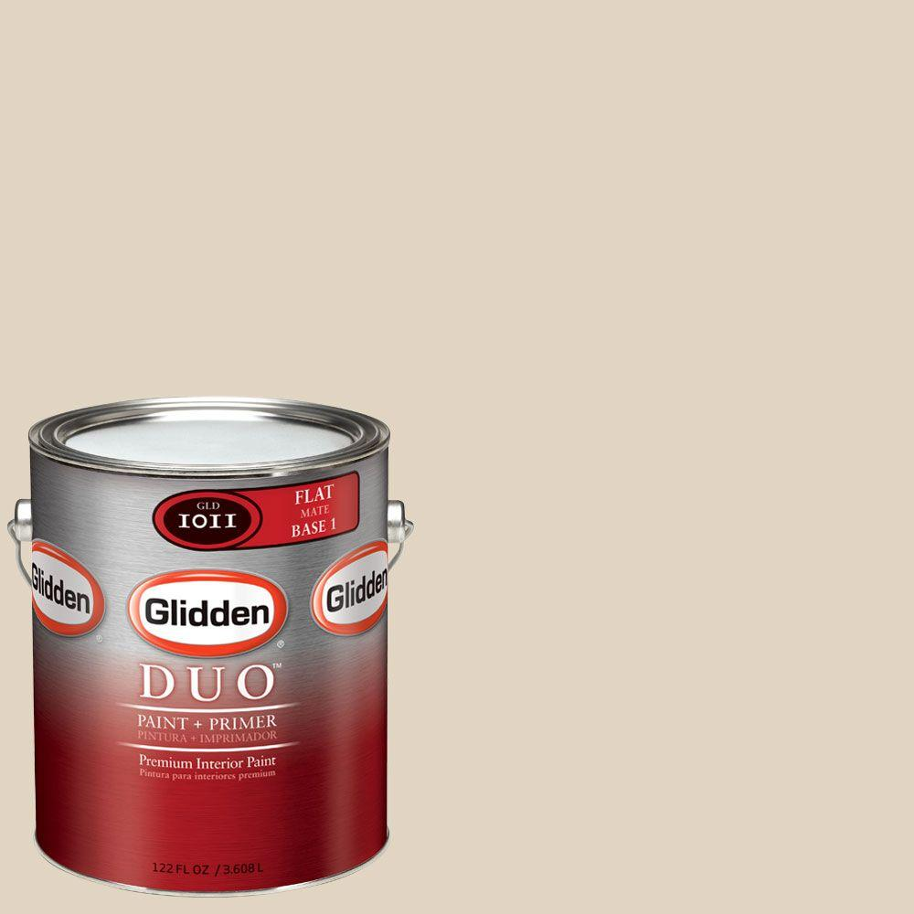 Glidden DUO Martha Stewart Living 1-gal. #MSL200-01F File Cabinet Flat Interior Paint with Primer - DISCONTINUED