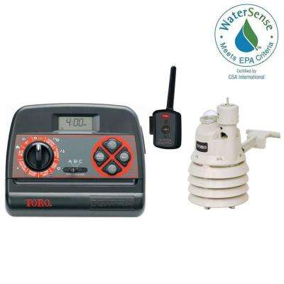 Xtra Smart EC-XTRA Landscape Timer and Wireless Weather Sensor