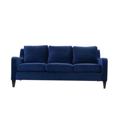 Serena Navy Blue Lawson Sofa