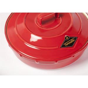 Click here to buy  Ceramic Garlic Roaster and Tortilla Warmer with Lid.
