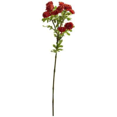 Indoor 17 in. Japanese Flower Artificial Flower (Set of 8)