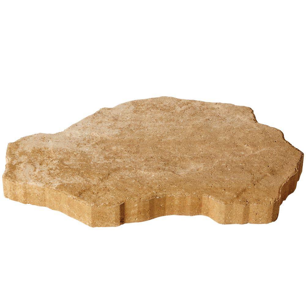 Pavestone SandStone 25 in. x 14 in. x 2 in. Cafe Concrete Step Stone