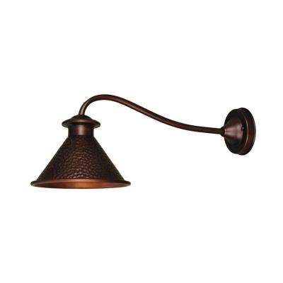 Dark Sky Essen 1-Light Antique Copper Outdoor Wall Lamp